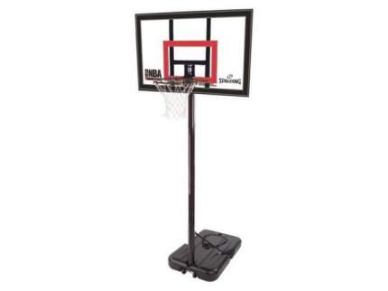 """Баскетбольная мобильная стойка SPALDING HIGHLIGHT ACRYLIC 42"""""""