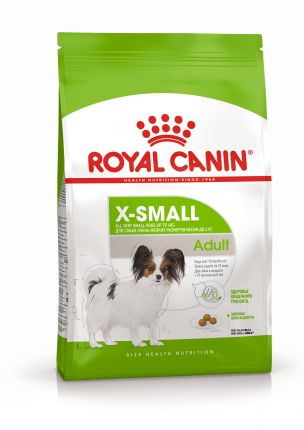 Сухой корм для собак ROYAL CANIN Adult X - Small, рис, птица, 1.5кг