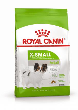 Сухой корм для собак ROYAL CANIN Adult X - Small, рис, птица, 0.5кг