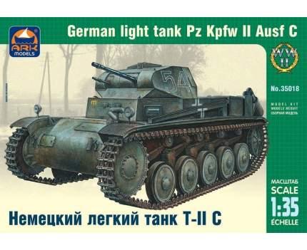 Немецкий легкий танк Т-II C 35018 ARK-models 1/35
