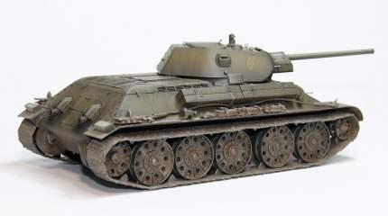 Модель сборная Советский средний танк Т-34-76 (Танкоград) ARK-models 35042