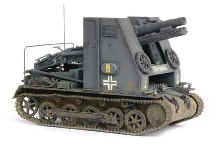 Модель сборная Немецкая 150-мм самоходная гаубицам ARK-models 35005
