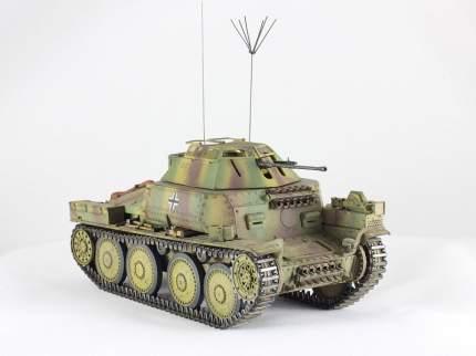 Модель сборная Немецкий разведывательный танк 140/1 ARK-models 35030