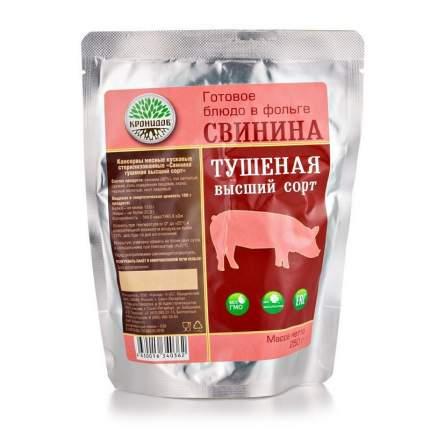 """Готовое блюдо """"Свинина тушеная (тушенка) высший сорт"""" 250 г (Кронидов)"""