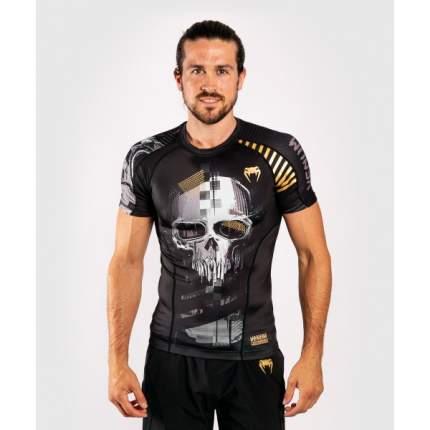 Рашгард Venum Skull S/S Black, XL