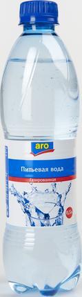Вода Aro минеральная газированная 0,5 л