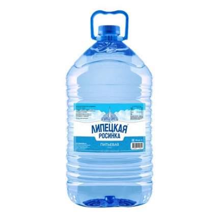 Вода Липецкая Росинка Артезианская питьевая негазированная 5 л
