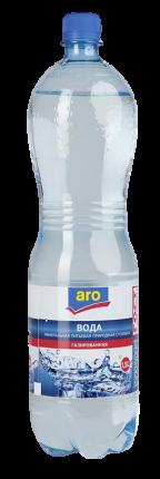 Вода Aro минеральная столовая питьевая газированная