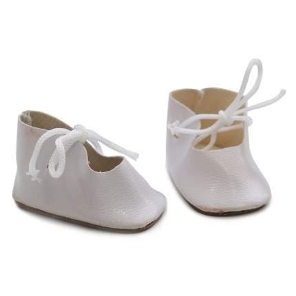 Ботиночки для кукол АЙРИС белые 4,5 см, 2 пары