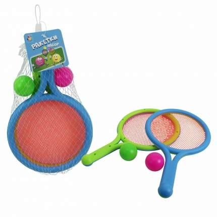Набор: ракетки с сеткой, 2 мяча, арт. Т11610