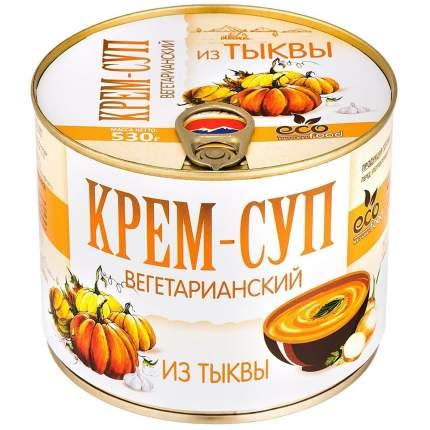 Крем-суп вегетарианский из тыквы Ecofood, 530г