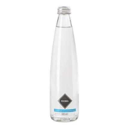 Вода питьевая Rioba газированная столовая 0,33 л