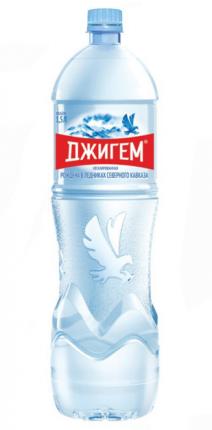 Вода ледниковая Джигем минеральная негазированная 1,5 л