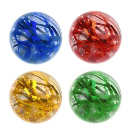 """Мяч прыгун """"Цветной дождь"""", 6,5 см"""