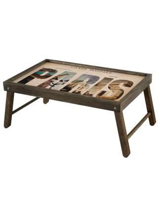 """Столик для завтрака """"Paris"""" 59х32,5х22 см, махагон, Дубравия, KRK-005-BT"""