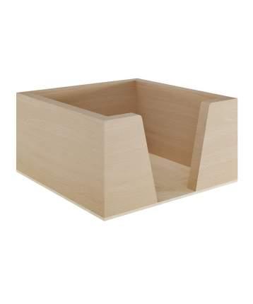 """Салфетница кухонная """"Cosy"""", 14x14x8 см, массив дерева, натуральный, Дубравия, KRK-008-N"""