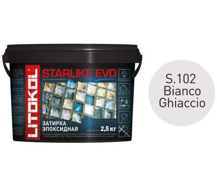 Эпоксидная затирка LITOKOL STARLIKE EVO S.102 BIANCO GHIACCIO, 2,5 кг