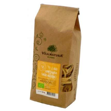 Паста лапша кукурузная широкая био VILA NATURA 2 пачки по 250 грамм