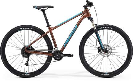 Велосипед Merida Big.Nine 100-2x 2021 L бронзовый