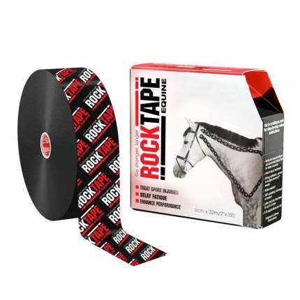Кинезиотейп Rocktape Equine для животных, 5 см х 32 м, черный