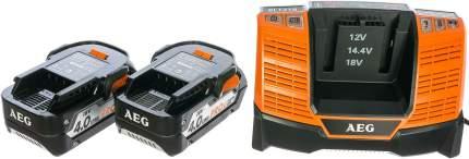Набор 2 аккумулятора+зарядное устройство AEG SETLL1840BL 4932464157