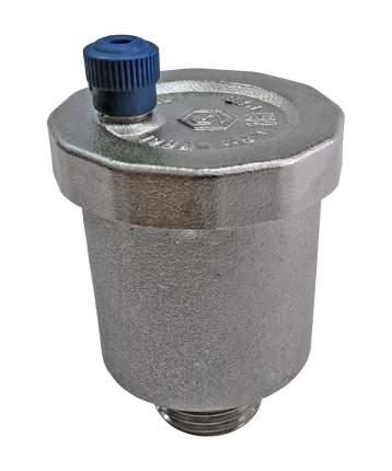 Автоматический воздухоотводчик STOUT 1/2 прямое подключение, никелированный