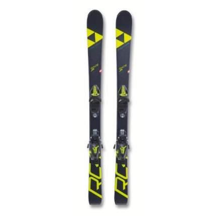 Горные лыжи Fischer Rc4 Race Jr/Fj4 Ac Brake 74 [K] Черн./Бел. 2019, желтые/черные, 70 см