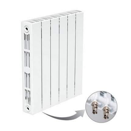 Радиатор Rifar SUPReMO Ventil 350 - 12 секций (подключение нижнее левое)