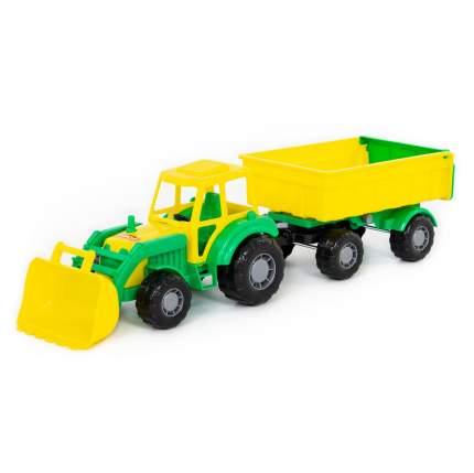Трактор-мастер с прицепом и ковшом №1 Полесье в ассортименте, в ассортименте