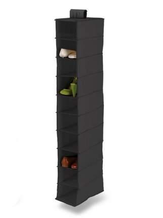 Подвесной кофр на 10 полок PORTA SAPATOS (Черный )