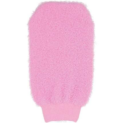 Мочалка-массажер Markethot в форме рукавицы Bath Towel, 13х21 см (Цвет: Розовый  )