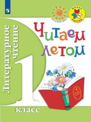 Литературное чтение. 1 класс. Читаем летом (новая обложка)
