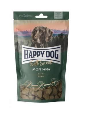 Лакомство для собак Happy Dog Montana, беззерновые, сердечки, мясо, 100г, 10 шт