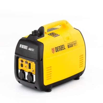 Генератор инверторный GT-2200iS Denzel, 94702,2,2 кВт,230 В,бак 4 л, ручной старт