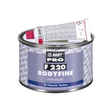 Шпатлевка доводочная HB BODY 220, 0,25 кг