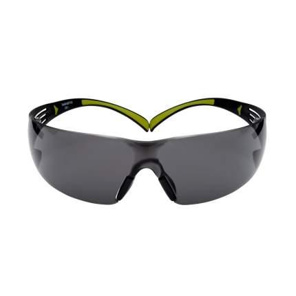 Очки защитные 3М SecureFit с покрытием против царапин и запотевания, серые, SF400GC1