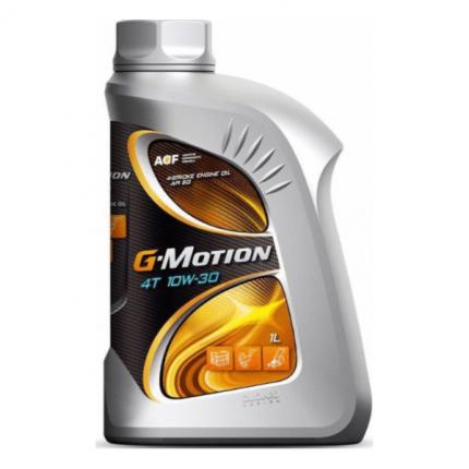 Моторное масло минеральное 4t 10w-30 g-motion 1л 253142285