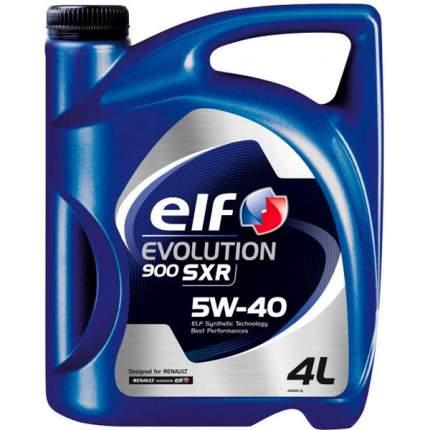 Моторное масло elf evolution 900 sxr 5w40 4л ro196115