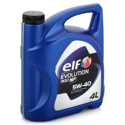 Моторное масло elf evolution 900 nf 5w40 4л 196146