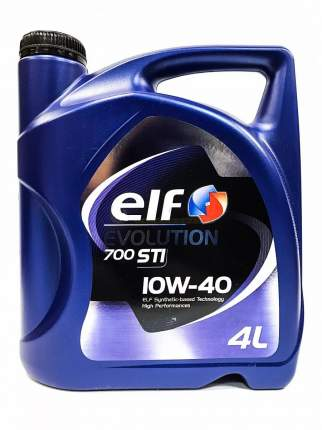 Моторное масло elf 700 sti 10w-40 4л 203698