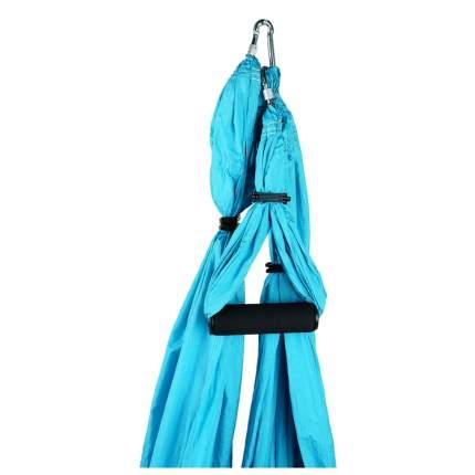 Гамак для йоги 250 × 150 см, цвет голубой