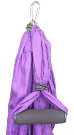 Гамак для йоги 250 × 140 см, цвет фиолетовый