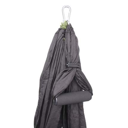 Гамак для йоги 250 × 140 см, цвет чёрный