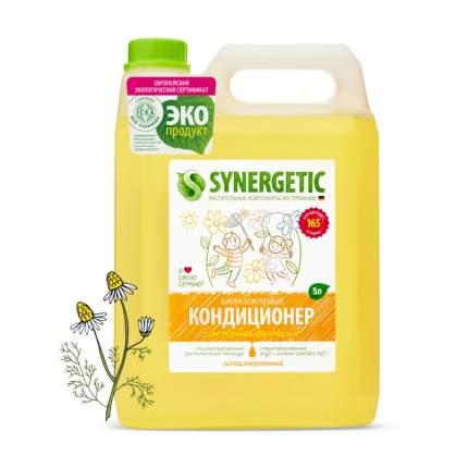 """Кондиционер для белья SYNERGETIC """"Цветочная фантазия"""" гипоаллергенный, 5л, 165 стирок"""
