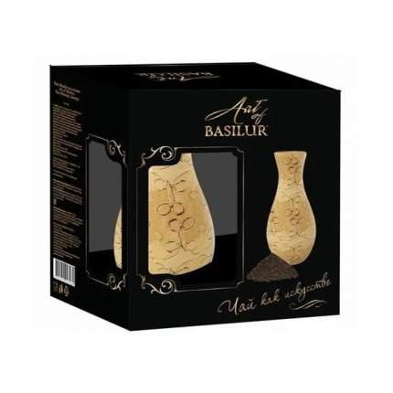 Подарочный набор Basilur Чай черный листовой 100 г + ваза Шар
