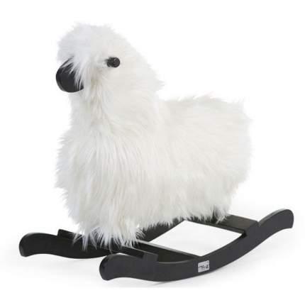 Качалка CHILDHOME Cwrshbl Rocking Sheep White+ Black 5420007147372