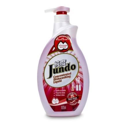 Концентрированный ЭКО гель д/посуды и детских принадлежностей Jundo Velvet Vetiver,1л
