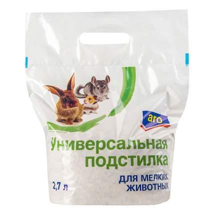 Впитывающий наполнитель для кошек Aro древесный, 2.7 кг, 2.7 л,