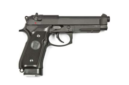 Пистолет KJW Beretta M9A1 CO2 GBB (CP306)