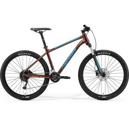 "Велосипед Merida Big.Seven 100 2x 2021 17.5"" bronze/blue"